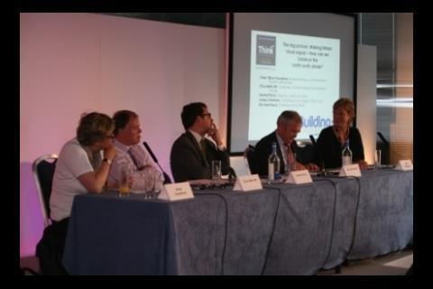 Elinor Goodman, Clive Betts, Dermot Finch, Michael Ward, Lesley Chalmers